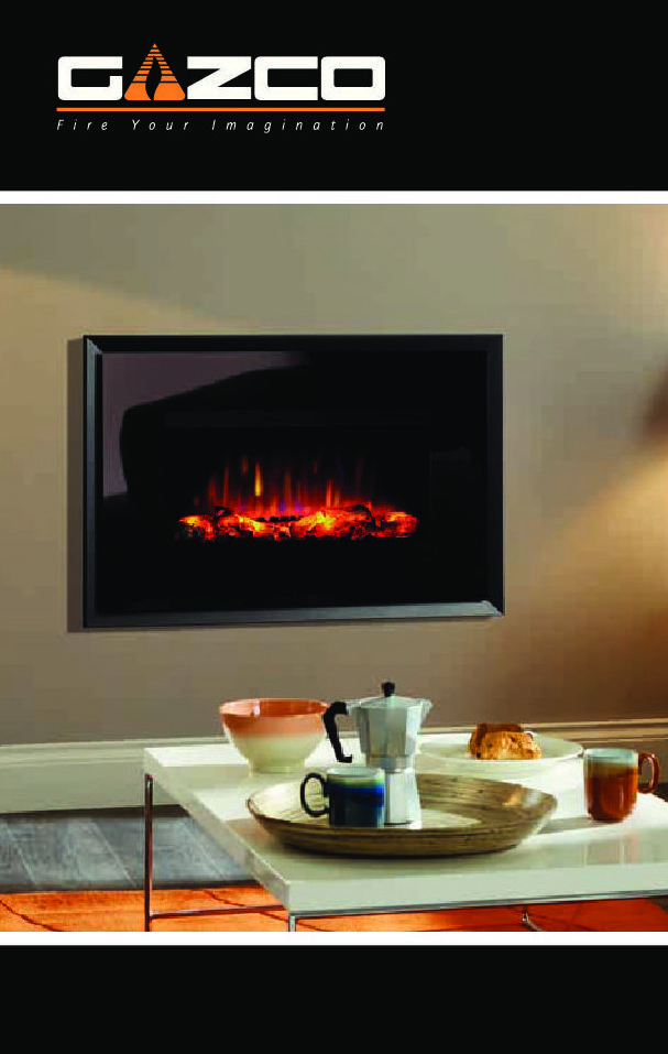 Gazco Electric Fires Stoves Brochure