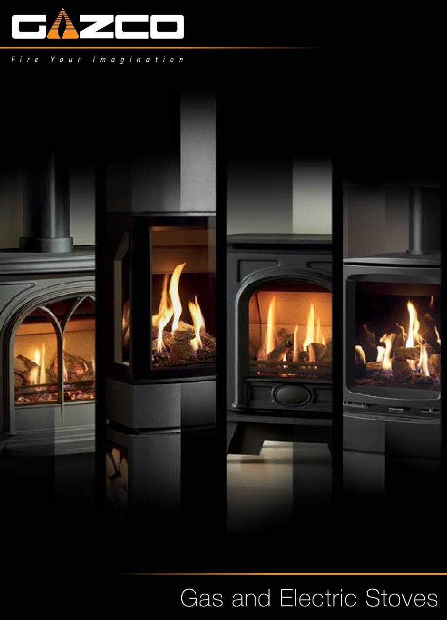 Gazco Gas & Electric Stoves Brochure