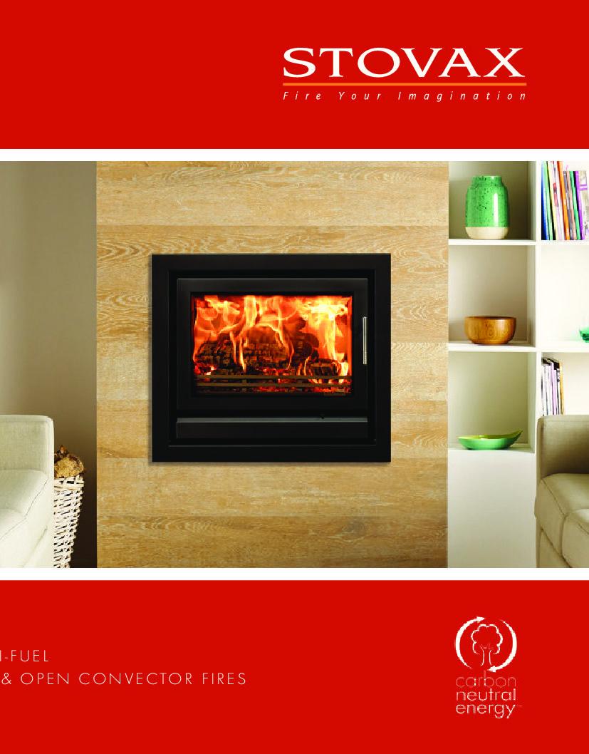 Stovax Riva Stoves & Cassettes Brochure