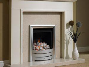 Barkley Wood Fireplace
