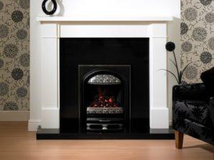 Brindisi Wood Fireplace