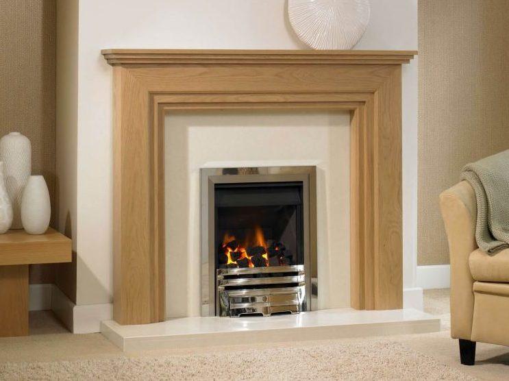 Brookfield Wood Fireplace