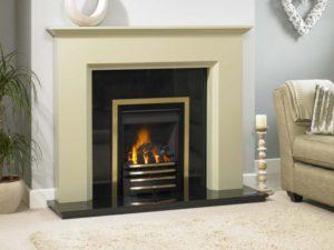 Calais Wood Fireplace