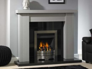Caspian Wood Fireplace