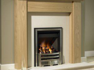Corsair Wood Fireplace