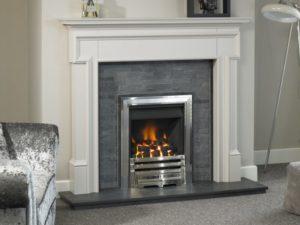 Edwardian Wood Fireplace