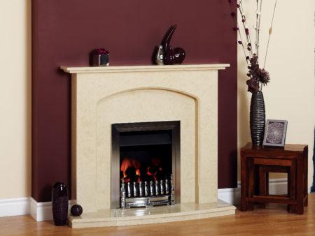 Natura Stone Abbey Fireplace
