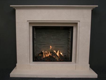 Jersey Limestone Fireplace