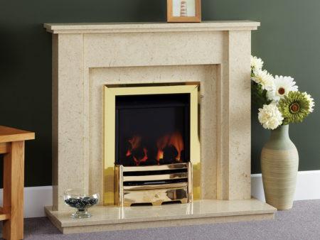 Natura Pimlico Micro Marble Fireplace