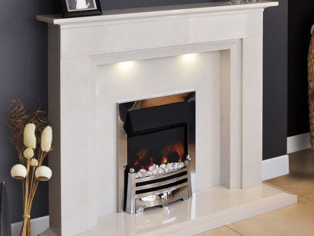 Natura Priory Micro Marble Fireplace