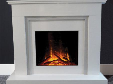 Natura Micro Marble Fireplace