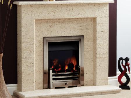 Natura Vegas Micro Marble Fireplace