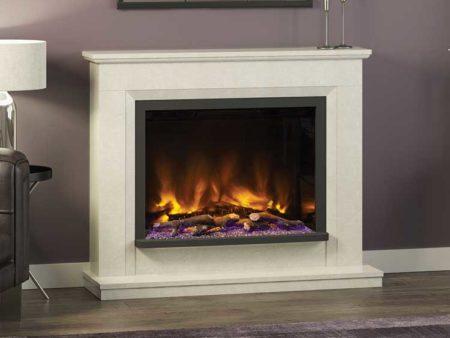 Alesso Pryzm fireplace
