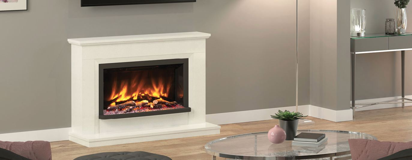 Alesso Petite Electric Fireplace