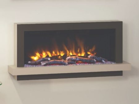 Huxton Pryzm wall mounted electric fire
