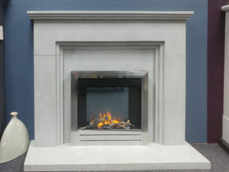 Arnolds Natura 54 inch Meridian surround in Highland Grey Stone (Halstead) - Was £1485 NOW £1000
