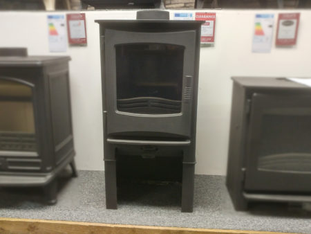 Broseley Desire 5 5kW multi-fuel stove with log store (Cambridge) - Was £1017 NOW £700