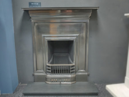 Capital Fireplaces 36 inch Oakley Cast Combination fully polished (Halstead) - Was £809 NOW £500