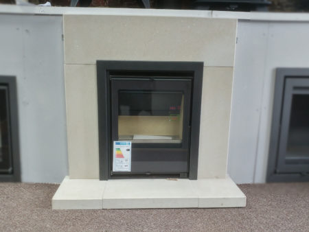Capital Fireplaces Sirius inset woodburning stove (Halstead) - Was £1249.50 NOW £999