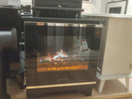 Ceklsi Purastove electric stove (Norwich) - Was £699 NOW £349.50