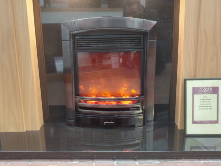 Celsi Decadence inset electric fire (Ipswich) - Was £699 NOW £150