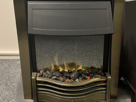 Dimplex Danesbury Brass inset electric fire Was £500 NOW £150