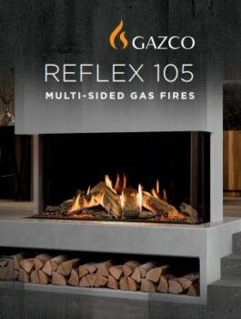 Gazco Reflex 105 Gas Fires